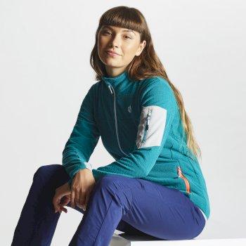 Women's Tenable Full Zip Fleece Caribbean Green