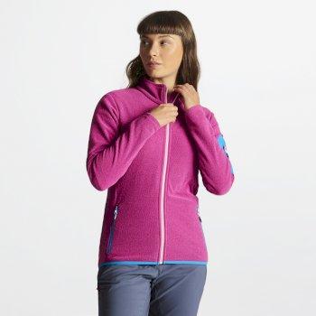Women's Tenable Full Zip Fleece Cyber Pink