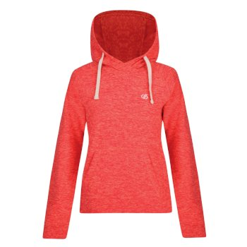 Women's Omnitude Hooded Fleece Fiery Coral