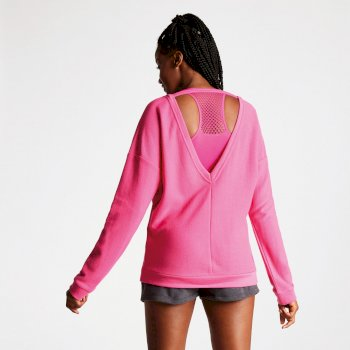 Sweat Lifestyle confortable RESILIENCE Cyber Pink