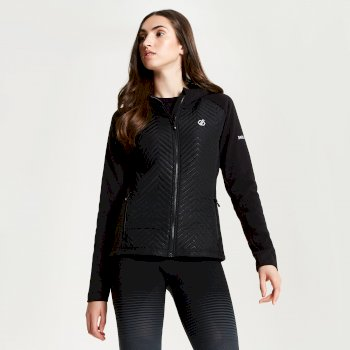 Women's Glorious Full Zip Hooded Fleece Black