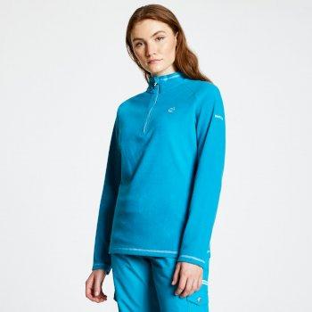 Women's Freeform Half Zip Lightweight Fleece Fresh Water Blue