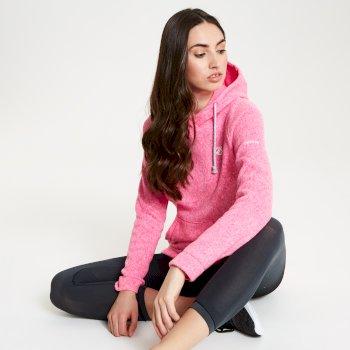 Polaire élégante et confortable Femme REALISE avec conception design et ouverture zippée Rose