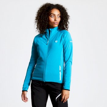 Women's Methodic Full Zip Fleece Freshwater Blue
