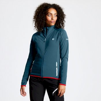Women's Methodic Full Zip Fleece Moroccan Blue