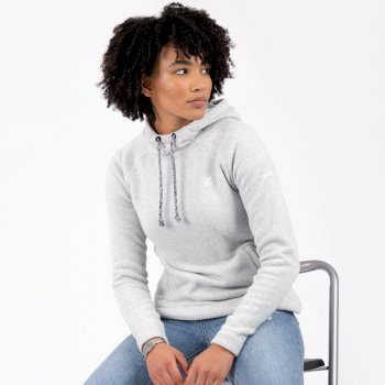 Women's Initiative Hooded Fleece Ash Grey