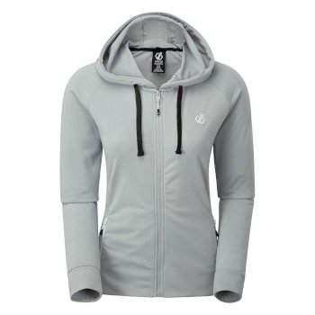 Women's Enacy Full Zip Hooded Fleece Argent Grey