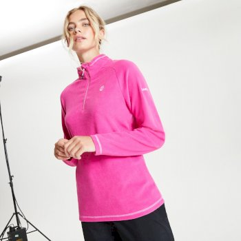 Women's Freeform II Half Zip Fleece Active Pink