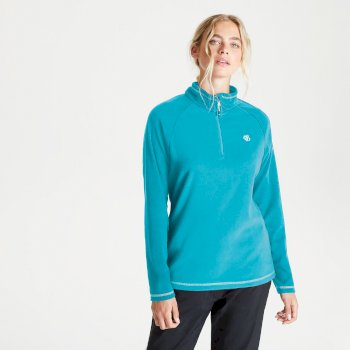 Women's Freeform II Half Zip Fleece Azure Blue