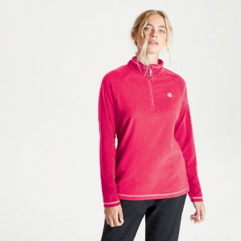 Women's Freeform II Half Zip Fleece Neon Pink