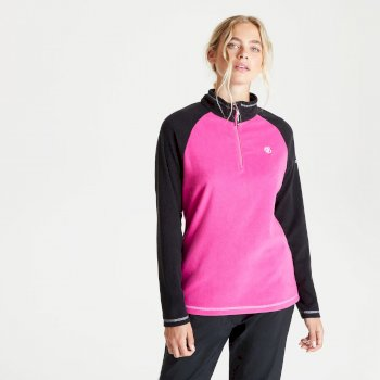 Women's Freeform II Half Zip Fleece Active Pink Black