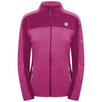 Women's Methodical Full Zip Fleece  Berry Pink Active Pink