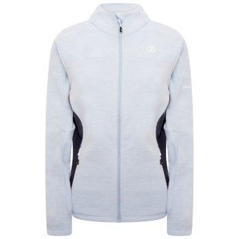 Women's Methodical Full Zip Fleece  Celestrial Grey Ebony Grey