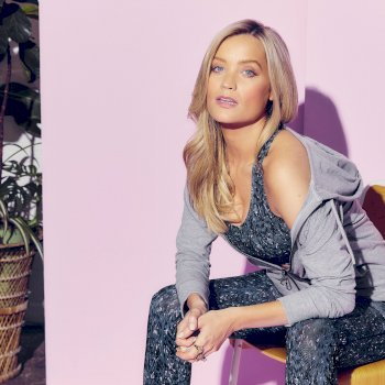 The Laura Whitmore Edit - Influence Swarovski Embellished Hoodie Ash Grey Marl