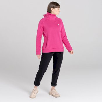 Women's Safe Side Hooded Fleece Active Pink