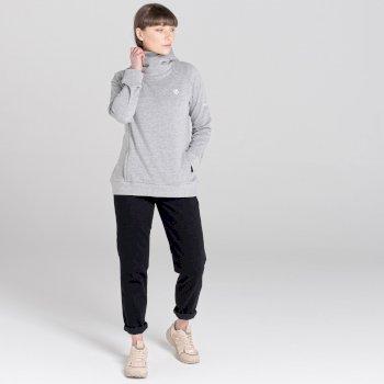 Women's Safe Side Hooded Fleece Ash Grey