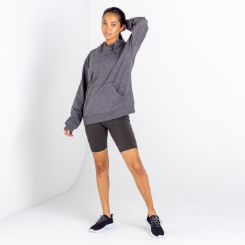 Women's Lounge About Overhead Hoodie Charcoal Grey Marl