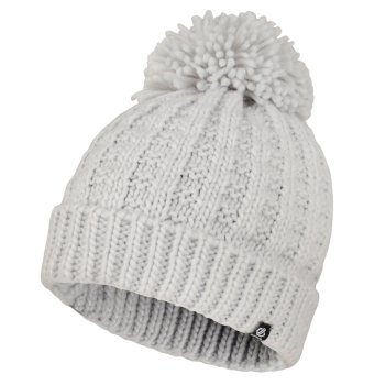 Women's Convoke Bobble Hat Argent Grey