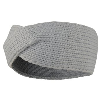 Women's Persona Knitted Headband Argent Grey