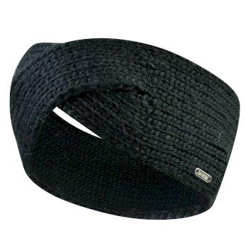 Women's Persona Knitted Headband Black