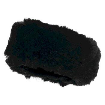 Dare 2B X Julien Macdonald - Women's Delicacy Fur Headband Black