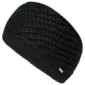 Women's Persona II Fleece Lined Knit Headband Black