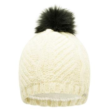 Women's Remind Faux Fur Bobble Hat White