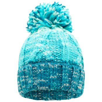 Women's Headmost Bobble Hat Dark Methyl Azure Blue