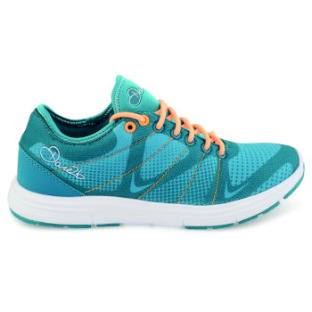 Women's Fuze Trainers Blue/Orange