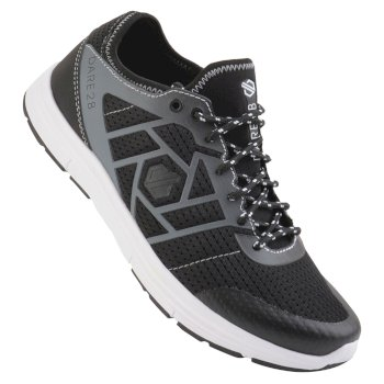 Women's Adfuze Trainers Black Gravity Grey