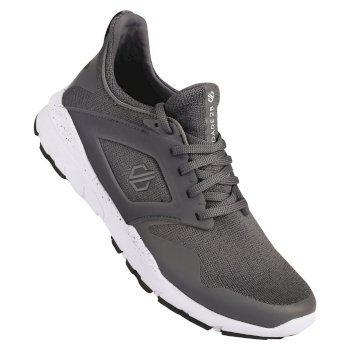 Women's Rebo Trainers Smokey Grey White