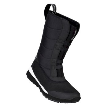 Women's Zeno Fleece Lined Snow Boots Black White