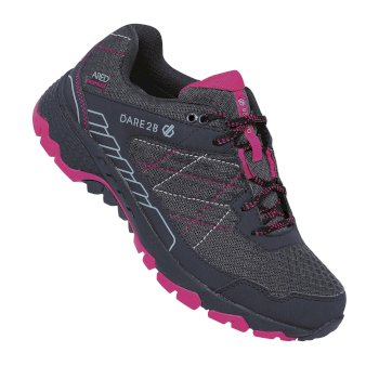 Women's Viper Walking Shoes Ink Grey Active Pink