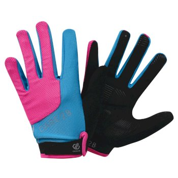 Women's Forcible Cycling Gloves Cyber Pink