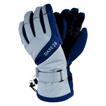 Women's Merit Stretch Gloves Blue Wing Argent Grey