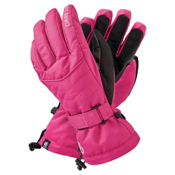 Women's Acute Waterproof Ski Gloves Active Pink