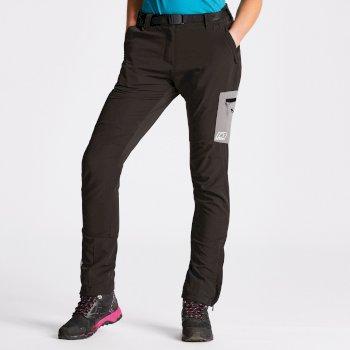 Women's Appressed Trousers Black/Smokey Grey
