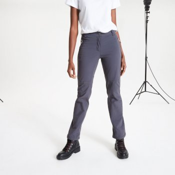Women's Melodic II Stretch Walking Trousers Ebony Grey