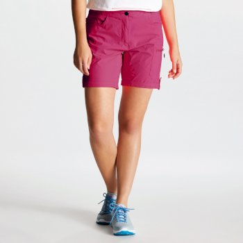 Women's Melodic II Multi Pocket Walking Shorts Fuchsia