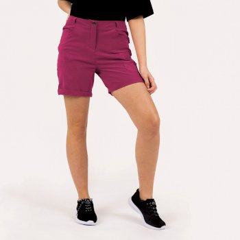 Women's Melodic II Multi Pocket Walking Shorts Berry Pink