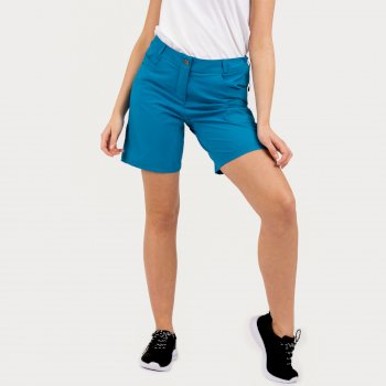 Women's Melodic II Multi Pocket Walking Shorts Blue Reef