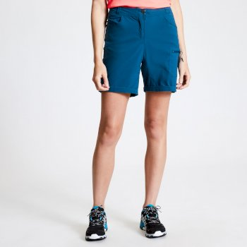 Women's Melodic II Multi Pocket Walking Shorts Moroccan Blue