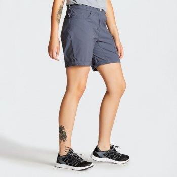 Women's Melodic II Multi Pocket Walking Shorts Quarry Grey