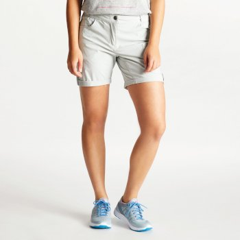 Women's Melodic II Multi Pocket Walking Shorts Argent Grey