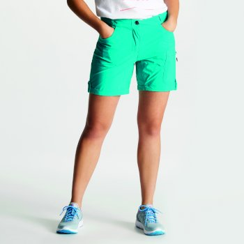 Women's Melodic II Multi Pocket Walking Shorts Caribbean Green