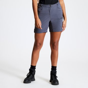 Women's Melodic II Multi Pocket Walking Shorts Ebony Grey
