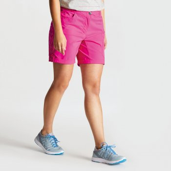 Women's Melodic II Multi Pocket Walking Shorts Cyber Pink
