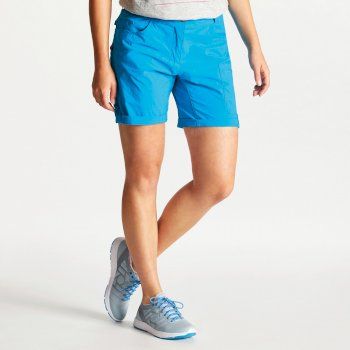 Women's Melodic II Multi Pocket Walking Shorts Blue Jewel