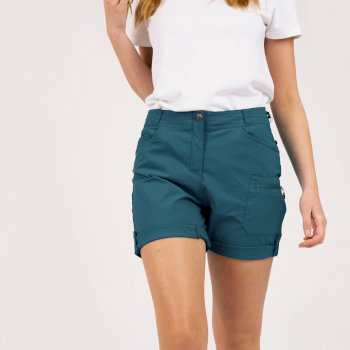 Short Stretch Femme Avec Multiples Poches MELODIC II Vert