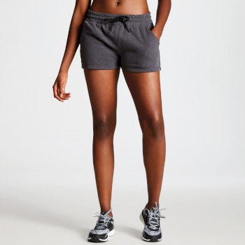Women's Resistance Drawstring Shorts Charcoal Grey